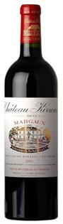 Chateau Kirwan Margaux 2000 750ml - Case...